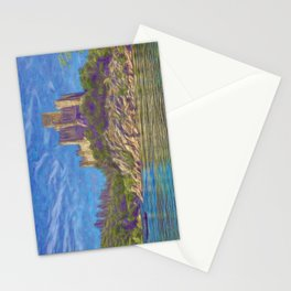 Almourol, Knights Templar fort Stationery Cards