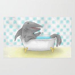 Shark bath Rug