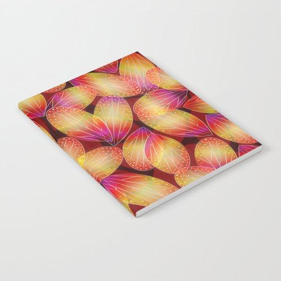 Fire Fairy Wings Notebook