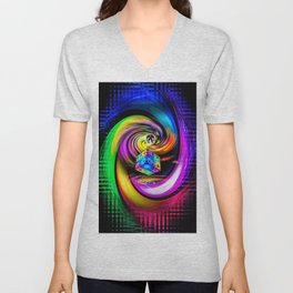 Rainbow Creations Unisex V-Neck