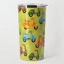 Mod Scooters Travel Mug