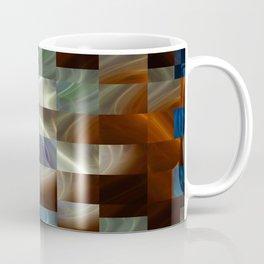 Metal Squares Coffee Mug