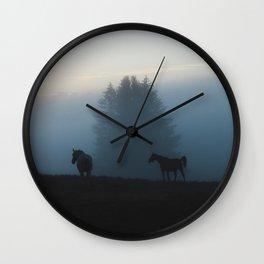Kinghaven V Wall Clock