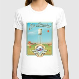See america vintage travel poster. T-shirt