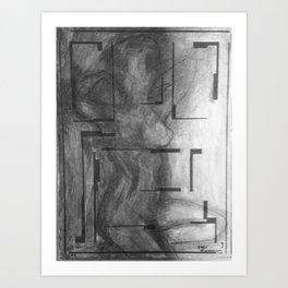 Dark Sister 1 Art Print