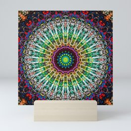 Colorful Vibrant Gypsy Mandala Mini Art Print