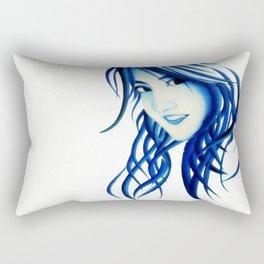 Abstract girl Rectangular Pillow