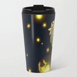 Dryad and Fireflies Travel Mug