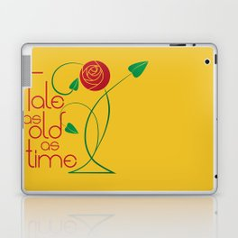 As old as time Laptop & iPad Skin