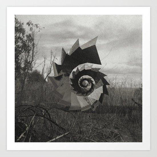 Intervention 37 Art Print
