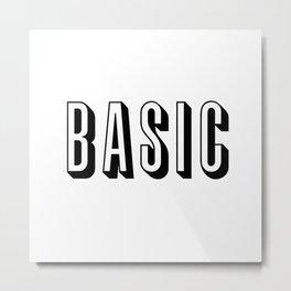 Basic Metal Print