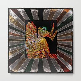 Angels Twilight Metal Print