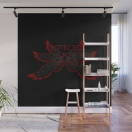 Protected by Lucifer Dark Wall Mural