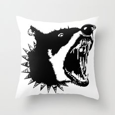 Gypsys Dog Throw Pillow