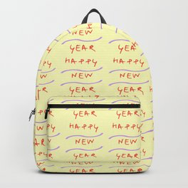 Happy new year 1 Backpack