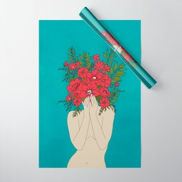 Blooming Red Wrapping Paper