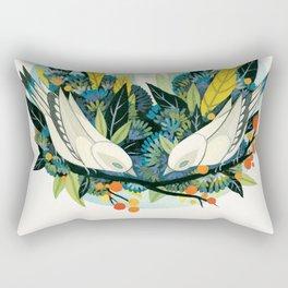 Avifauna Rectangular Pillow