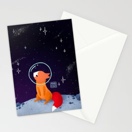 Where to next, little Fox? Stationery Cards
