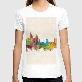 Ho Chi Minh City Saigon Vietnam Skyline T-shirt