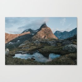 Romsdalshorn - Landscape and Nature Photography Canvas Print