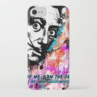 salvador dali iPhone & iPod Cases featuring Salvador Dali by Zoé Rikardo