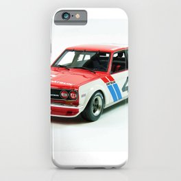 BRE Racing 510 Vintage JDM SCCA Championship Classic Automobile No. 2 iPhone Case