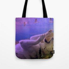 Siberian Husky Digit. Edition Tote Bag