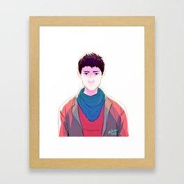 Merlin Framed Art Print