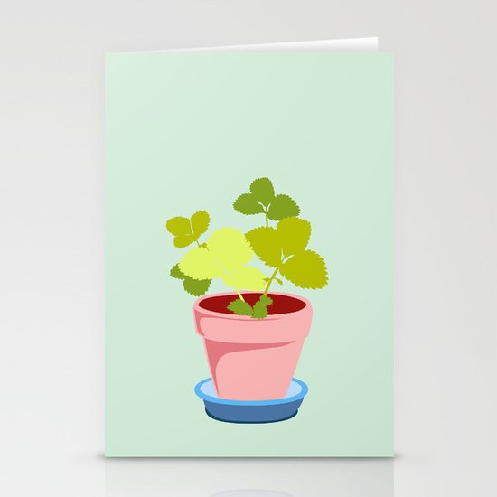 Young Strawberry #2 Stationery Cards