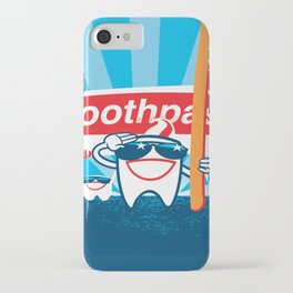 Teeth on Parade iPhone Case