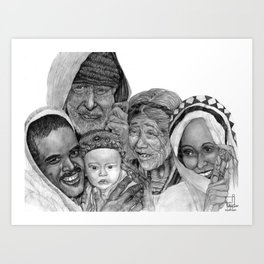 Proud Family Art Print