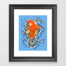 Magic Karp Koi Framed Art Print