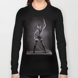 Lingerie and Rope Long Sleeve T-shirt