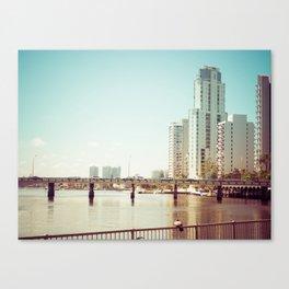 Nerang River Bridge Canvas Print