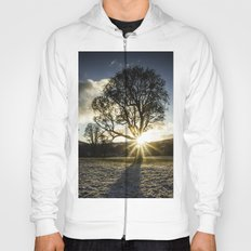 A Winters Sunset Hoody