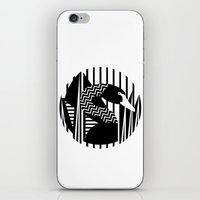 black swan iPhone & iPod Skins featuring black swan by Gray