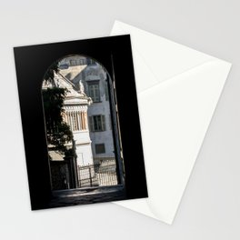Window to the light Stationery Cards
