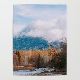 Autumn at Bird Creek II Poster