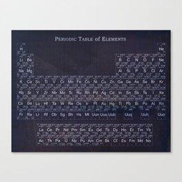 Periodic Table Canvas Print