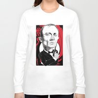 james bond Long Sleeve T-shirts featuring James Bond by Studio Drawgood