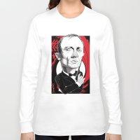 bond Long Sleeve T-shirts featuring James Bond by Studio Drawgood