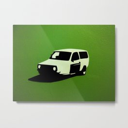 European Wagon Metal Print