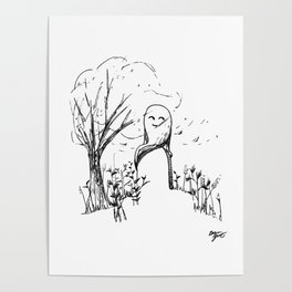 A Windy Day Poster