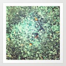 Shards. Art Print