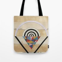 prism Tote Bags featuring Prism by Laurie McCall