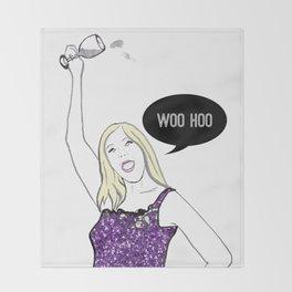 Woo Hoo Throw Blanket
