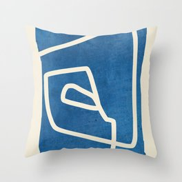 abstract minimal 57 Throw Pillow