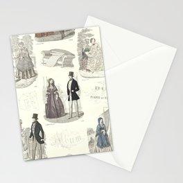 Biedermeier Fashion Stationery Cards