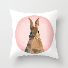 ♥ RABBITSSSSSS ♥ Throw Pillow