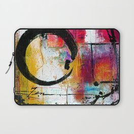 Enso Abstraction No. mm15 Laptop Sleeve